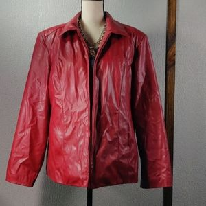 Nwot Marc by Marc jacket ❤️ red
